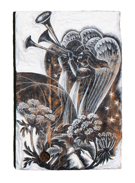Artist Clare Leighton: Angels and Trumpets, 'The Vision Splendid', BPL 762 1965