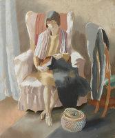 Artist Edith Granger-Taylor: The Pink Armchair, 1920s