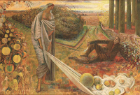 Artist Evelyn Dunbar: Autumn and the Poet, 1948-1960