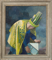 Artist Evelyn Dunbar: February, c.1937-38 [HMO 764]