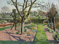 Artist Evelyn Dunbar: A Sussex Garden
