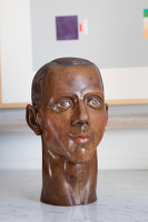 Artist Gladys Hynes: Portrait bust of Anthony Butts, 1925
