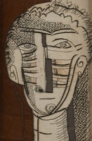 Artist Frances Richards: Hieratic Head, circa 1940