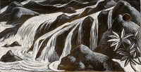 Artist Clare Leighton: He Brought Streams, (BPL 653) Psalms, circa 1952