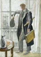Artist Mary Adshead: Portrait of Steven Bone