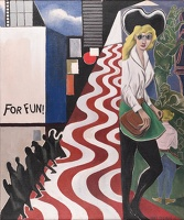 Artist Mary Adshead: For Fun, early 1960s