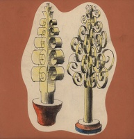Artist Mary Adshead: Finnial decorations