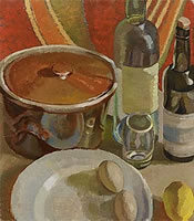 Paintings by the artist Dorothy Hepworth