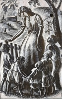 Artist Clare Leighton: Ellen and Her Children (BPL578), 1944