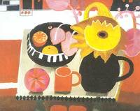 Artist Mary Fedden: The Orange Mug, 1996