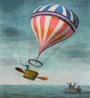 Artist Barbara Jones: Hot Air Balloon
