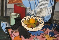 Artist Mary Adshead: Still Life with Gloves, circa 1935