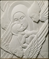 Artist Daisy Theresa Borne: Madonna of the Adoring Angels, 1929