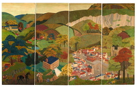 Artist Margaret L. Duncan: Reigate and its Environments, late 1930s