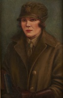 Artist Olive Wood: A woman motor driver serving with the WAAC, circa 1916
